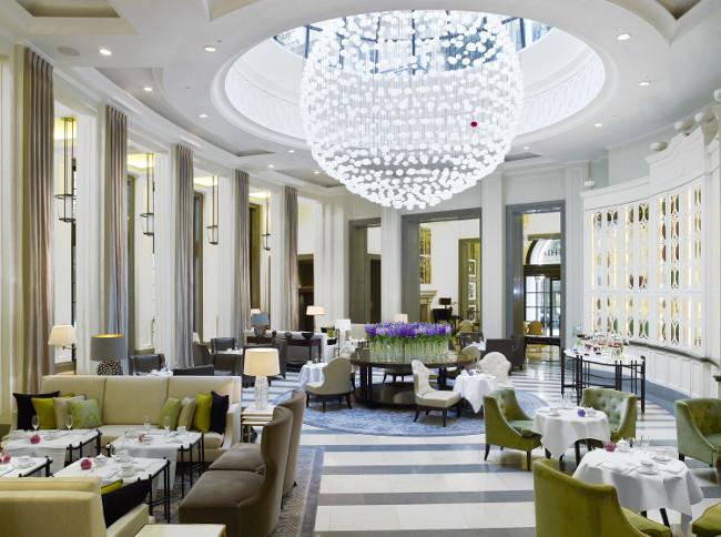 The Lobby Lounge morning Corinthia Hotel London