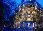 Twilight Exterior Corinthia Hotel London