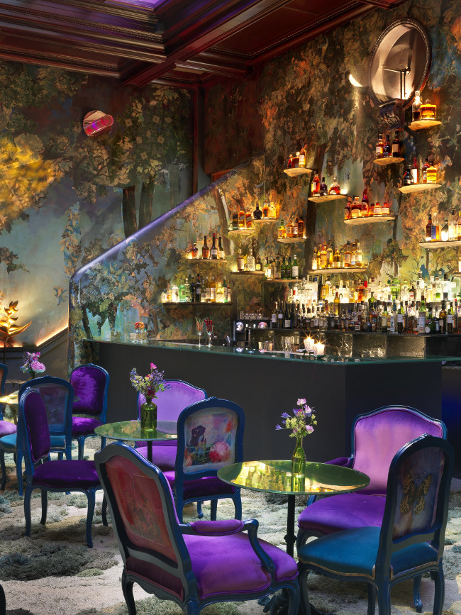 Glade bar and restaurant at Sketch in Mayfair
