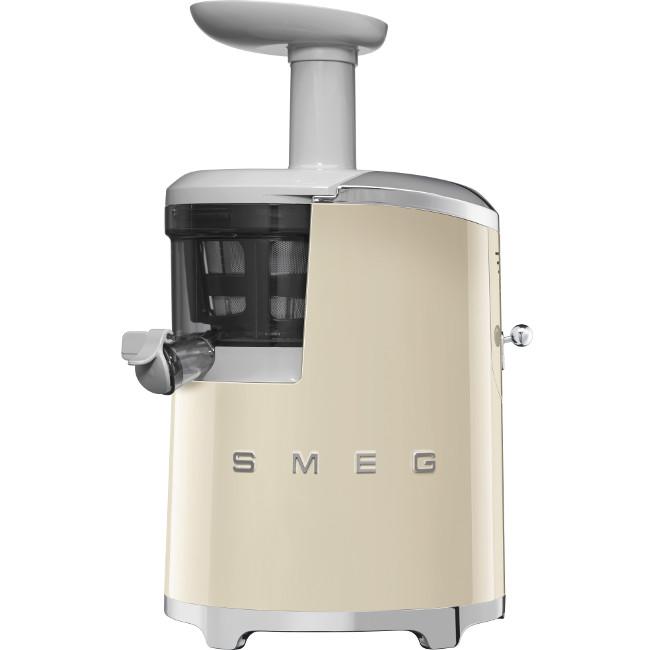 SMEG Slow Juicer: 50's Retro Juicer - Cream