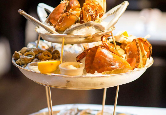 The restaurant offers some of the best seafood in Manchester