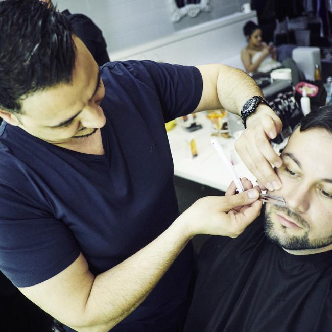 barbershop quality shave