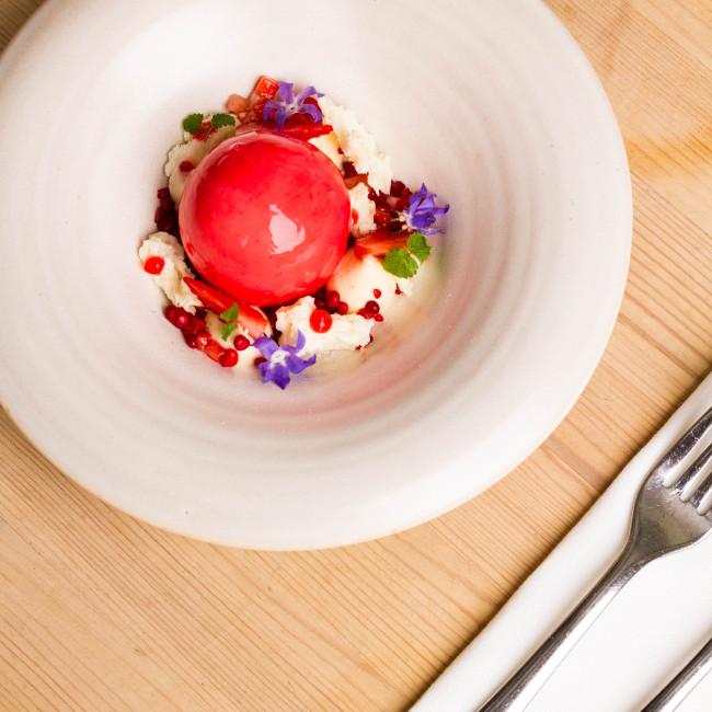 treby arms dessert
