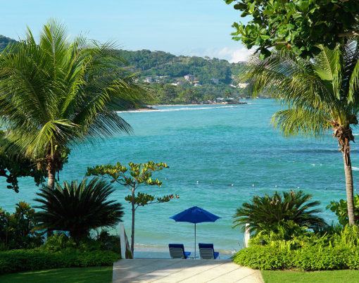 Round Hill Hotel and Villas, Montego Bay in Jamaica