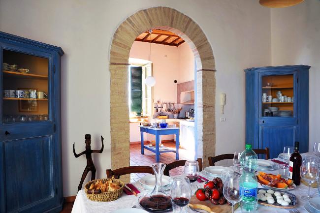 Santi Terzi kitchen