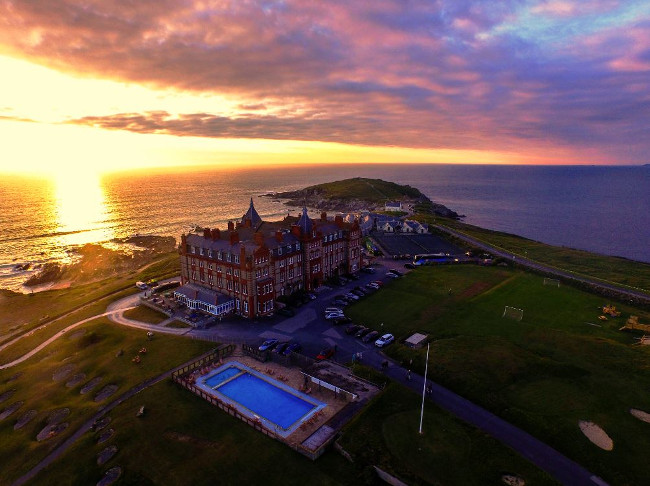 headland hotel in cornwall