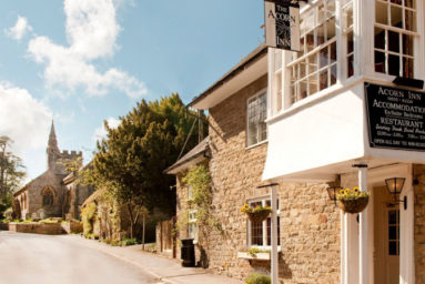 The Acorn Inn, Evershot in Dorset