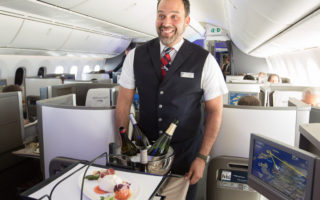 BA to launch new Club World dining experience
