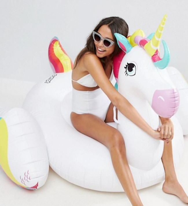 inflatable unicorn from ASOS