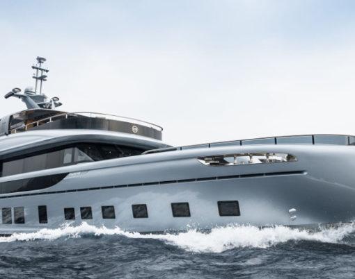 Dynamiq 35m super-yacht GTT 115 Hybrid