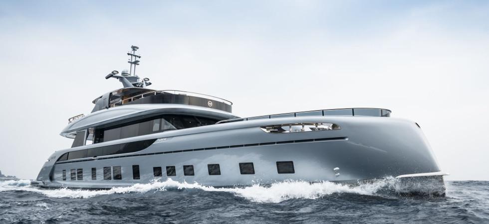 Dynamiq 35m Super Yacht GTT 115 Hybrid