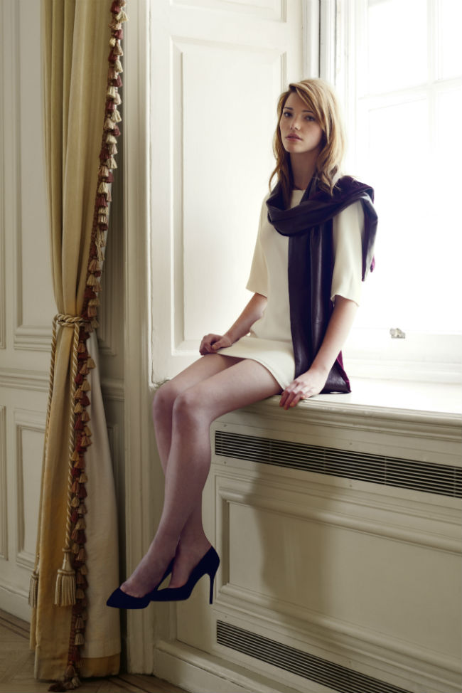 Costin-London-womenswear-leather-scarf