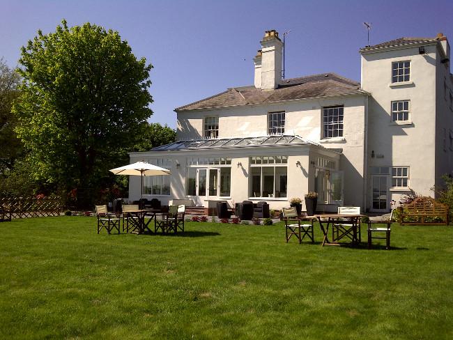 Fishmore Hall Hotel, Ludlow in Shropshire