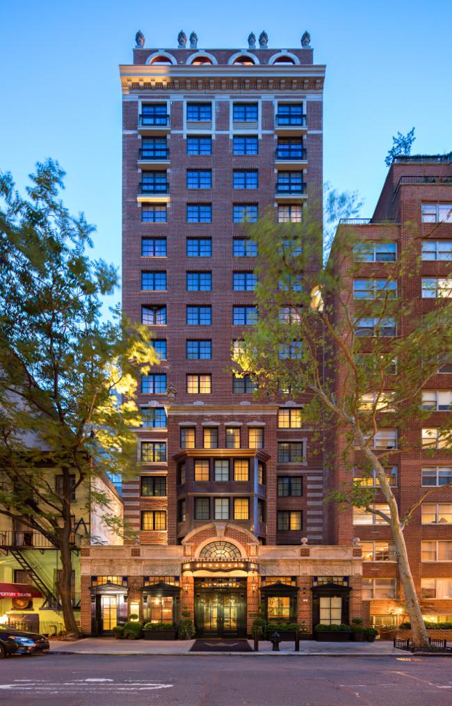 Walker Hotel, Greenwich Village in New York City, USA