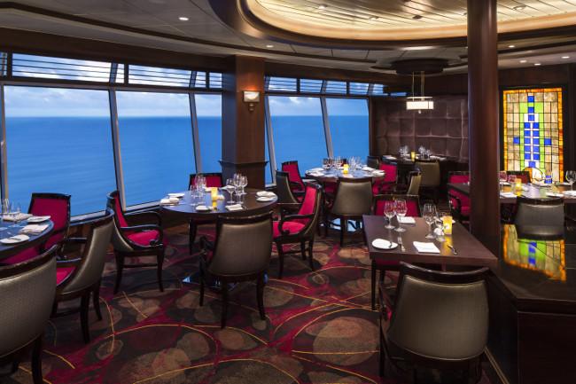 Chops Grille - Deck 11 Aft Navigator of the Seas - Royal Caribbean International
