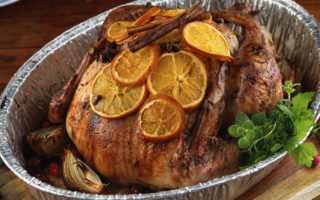 Christmas Roast Turkey with Orange and Spices Recipe
