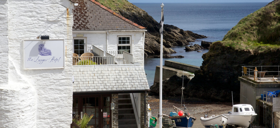 The Lugger Hotel, Portloe in Cornwall