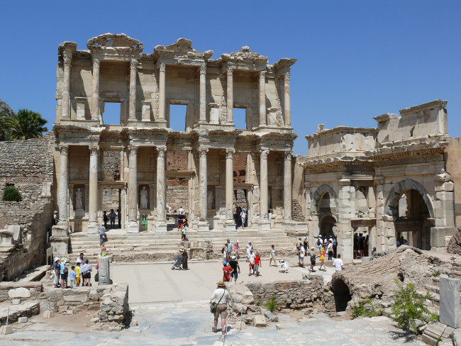 The Ancient City Ruins of Ephesus