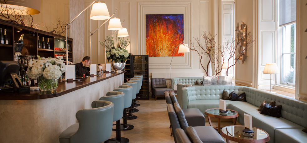 Restaurant Review Texture Portman Street London
