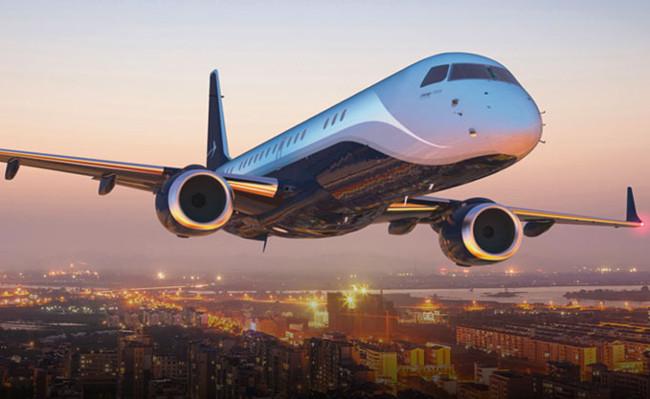 The Embraer Lineage 1000E