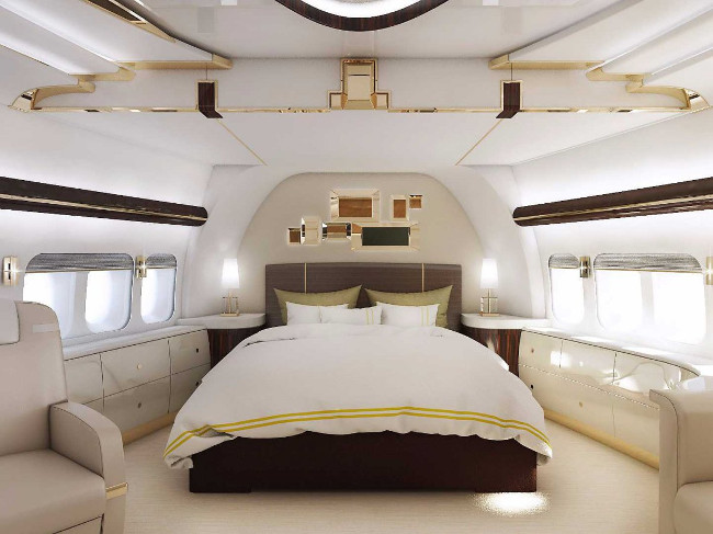 The Boeing 747-8 VIP
