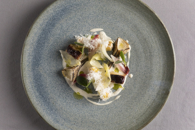 Adam Reid offers an innovative and exciting menu