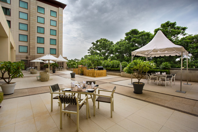 The Square at Novotel Hyderabad Airport in India