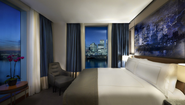Hotel review intercontinental london the o2 greenwich for Hotels 02 arena
