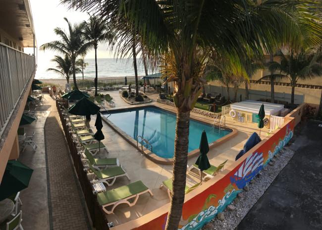 Windjammer Resort pool