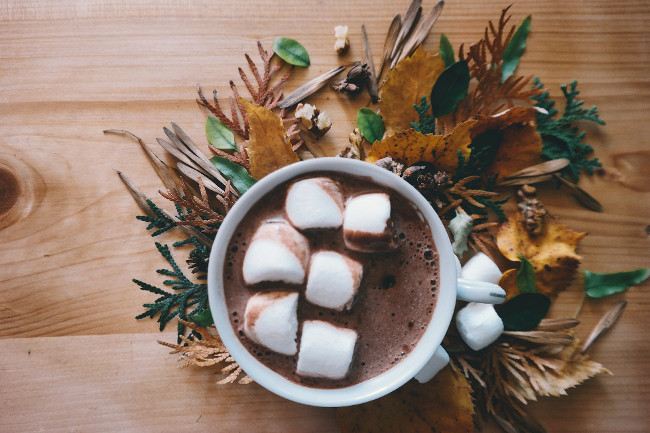 Hot chocolate season is approaching