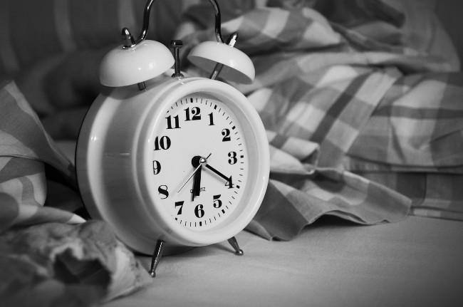 clock bed