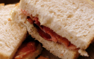 bacon sandwich