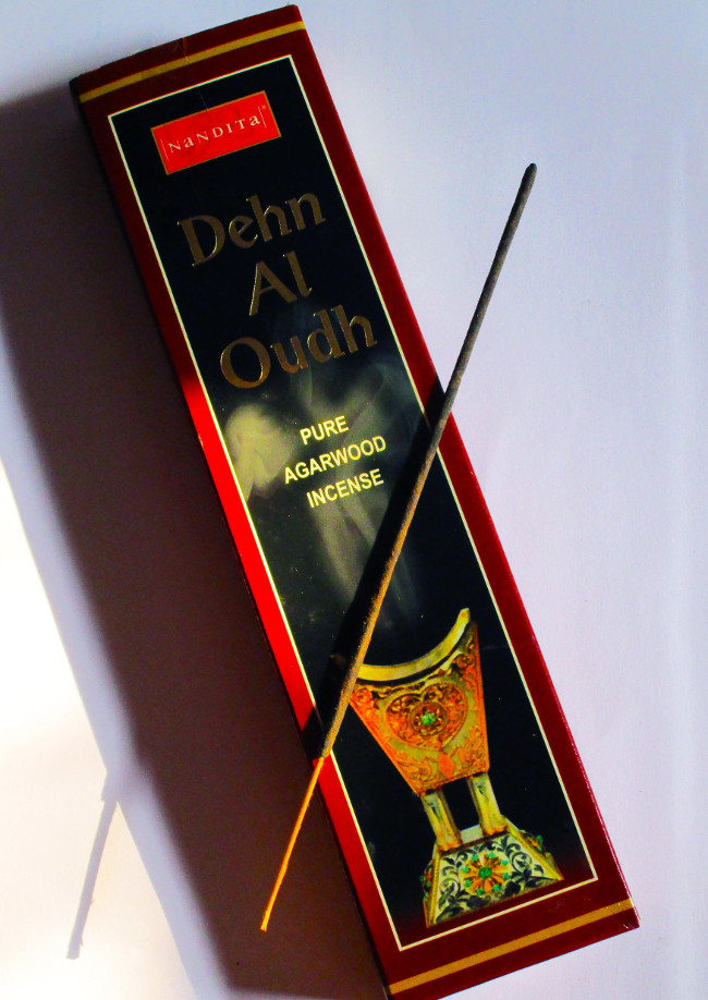 EXOTIC PURE DEHN EL OUD INCENSE BY NANDITA FRAGRANCES