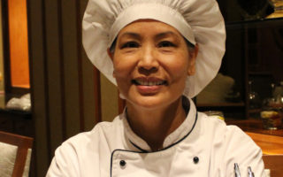 Sanguan Parr, Head Chef at Nipa Thai