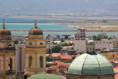 View of Cagliari - Credit Fototeca ENIT + photographer Sandro Bedessi