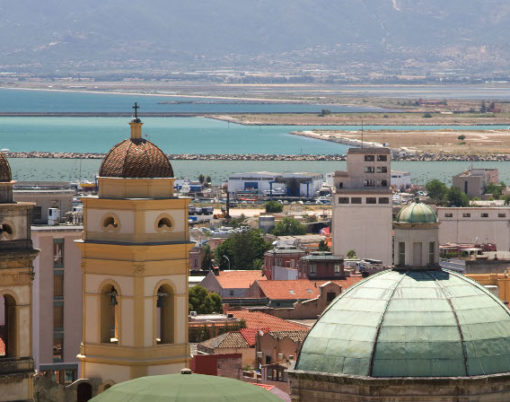View of Cagliari - Credit Fototeca ENIT + photographer Sandro Bedessi