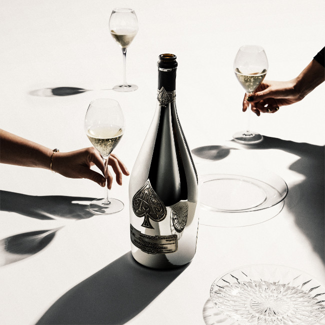 Champagne Armand de Brignac announces the U.K. unveiling of the new Blanc de Blancs en Magnum