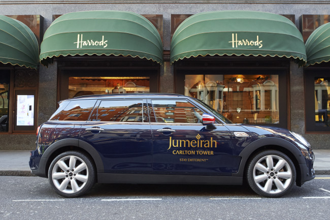 Jumeirah-Carlton-Tower-Mini-outside-Harrods