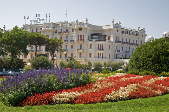The Grand Hotel and Fellini Park and Promenade