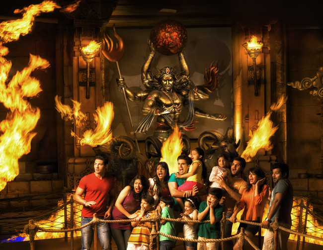 Wrath of The Gods at Imagica