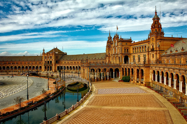 Seville is Andalusia's capital city