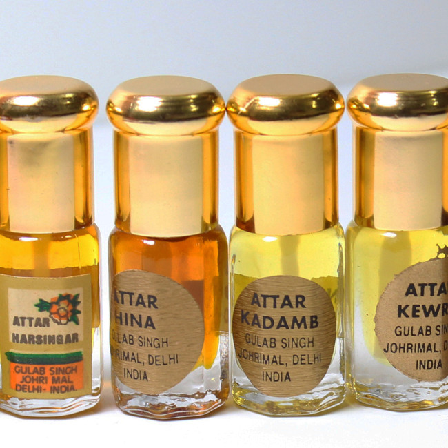EXOTIC TRADITIONAL INDIAN ATTAR FRAGRANCES-GULAB SINGH JOHRIMAL