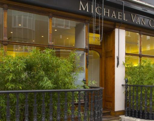 Michael Van Clarke Hair Salon, Marylebone