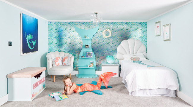 Full Mermazing Mermaid Bedroom_preview