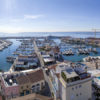 Old port and marina in Cyprus