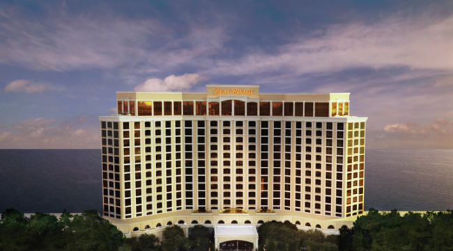 The Beau Rivage in Biloxi