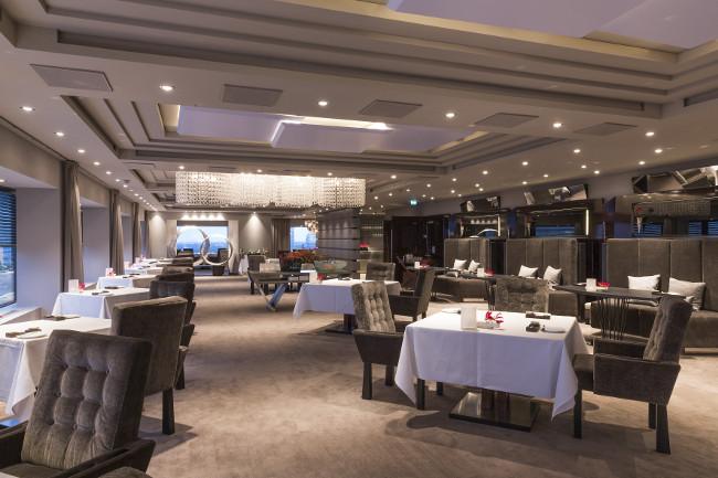 Hotel Okura Amsterdam - Ciel Bleu Restaurant - Overview