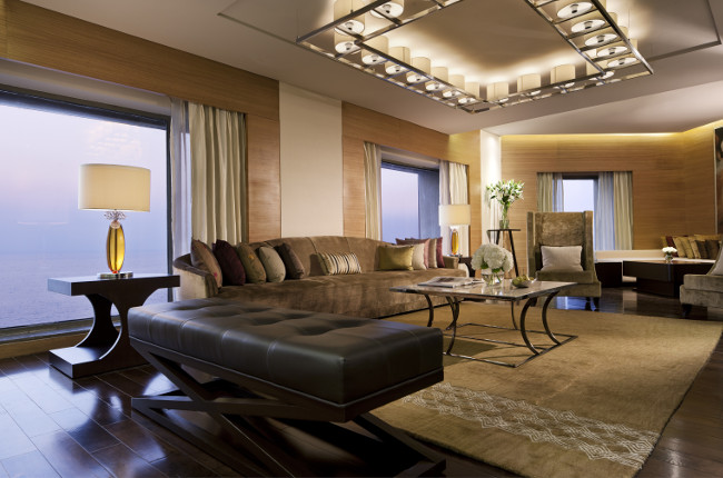 Presidential Suite Living Area, JW Marriott Mumbai