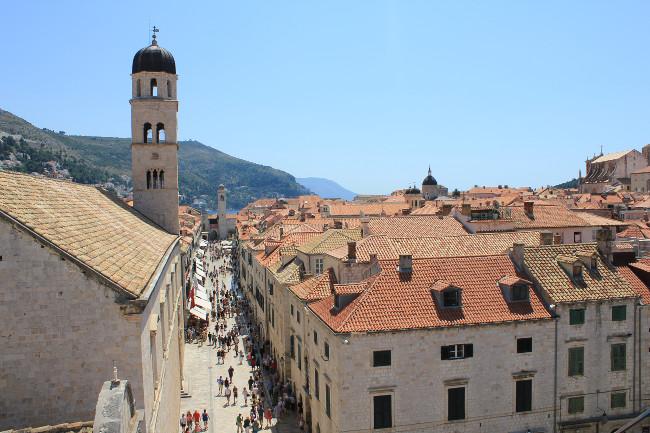 Stradun - Main Street in Dubrovnik Old Town - Croatia Gems Ltd