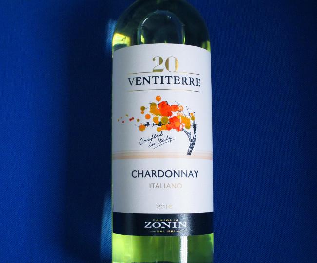 ZONIN VENTITERRE CHARDONNAY-ITALY